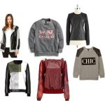 Casual Style Upgrade {Leather Sweatshirts!}