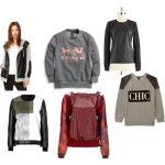 Casual Style Upgrade {Leather Sweatshirts!}