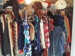 Jills Closet before